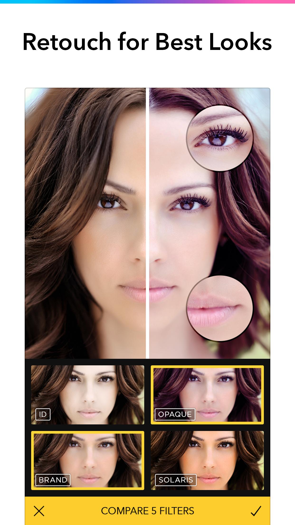 Filterra - Photo Editor Studio Screenshot