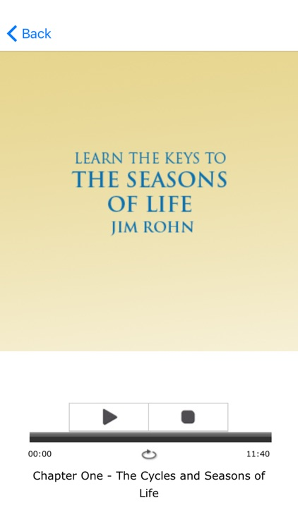 Seasons of Life Meditation Audios