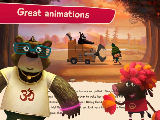 Green Riding Hood: Read Aloud Screenshot