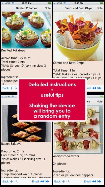Finger Food Recipes Plus+