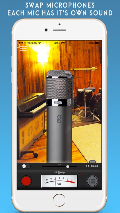 MicSwap: Microphone Emulator & Recorder screenshot-0
