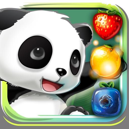 Панда. Фруктовое Путешествие