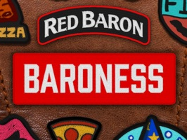 Red Baron Baroness Patches