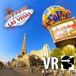 VR Vegas Strip Car South To North Virtual Reality