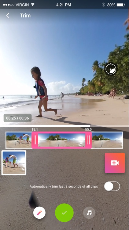 V360 - 360 video editor screenshot-2