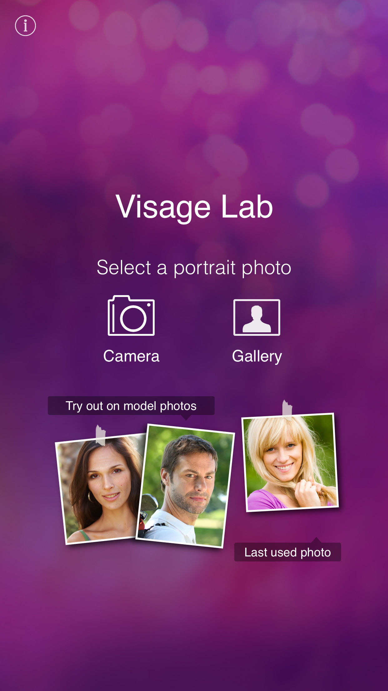 Visage: perfect face tune app Screenshot
