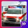 現実の救急車の救助運転 - 車の運転手のゲーム