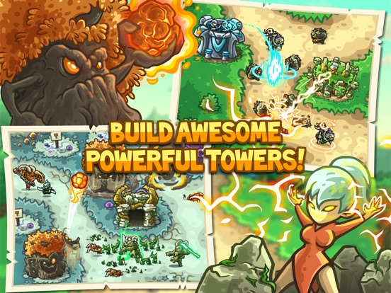 Kingdom Rush Origins HD Screenshots