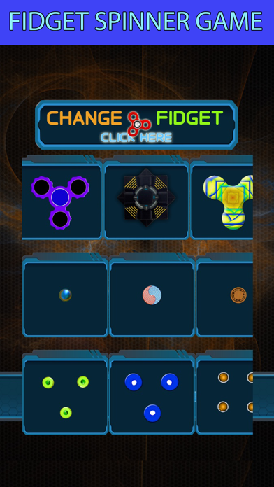 Fidget spinner simulator fun screenshot two
