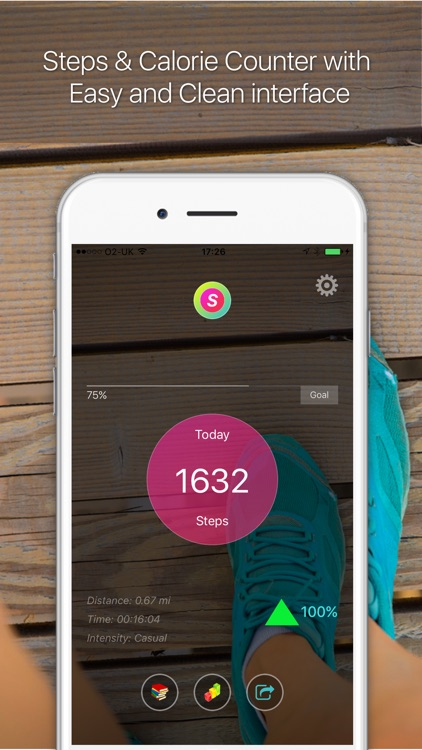Steps GO: Step Counter Pedometer Activity Tracker