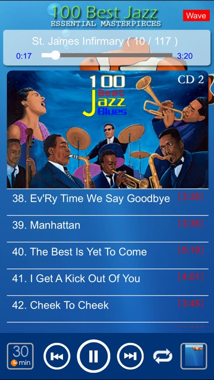 jazz blues music classic 100 screenshot-1