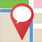 Where Am I? Send location + lat/long icon