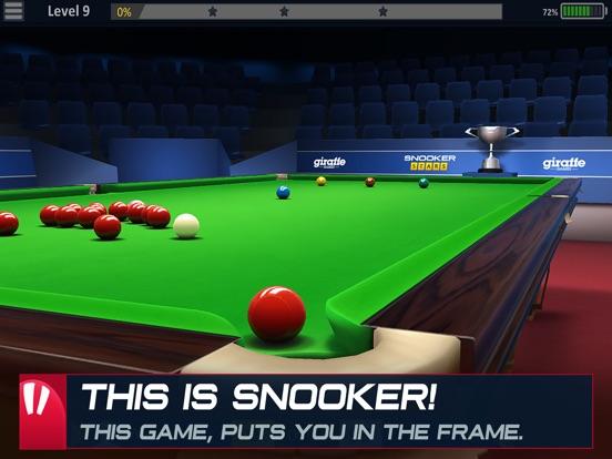 Snooker Stars на iPad