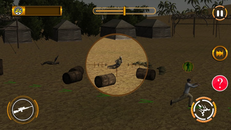 Critical Shot Sniper: Combat Shooting Game screenshot-4
