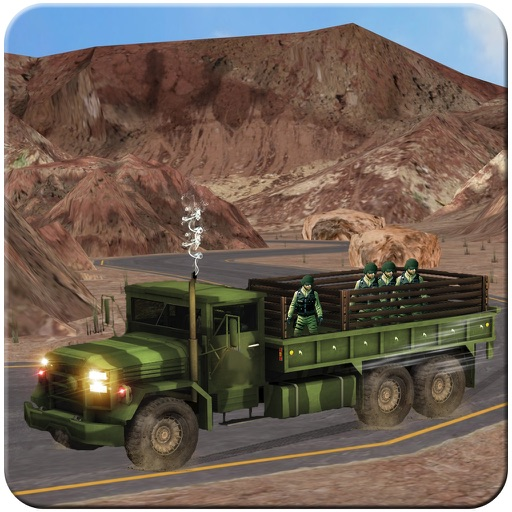 4x4 Military Jeep Driving Simulator in War Land