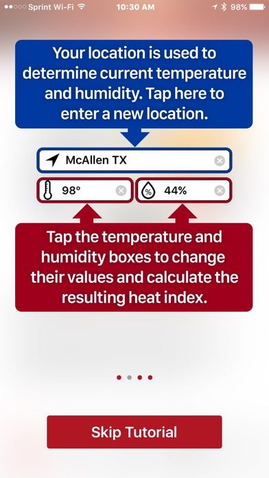 OSHA-NIOSH Heat Safety Tool for Windows