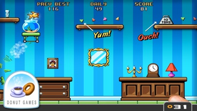 Screenshot from Fishbowl Racer