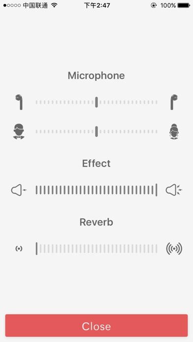 Microphone Mixer - Full Version Screenshot