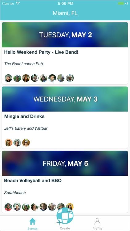 pof singles events