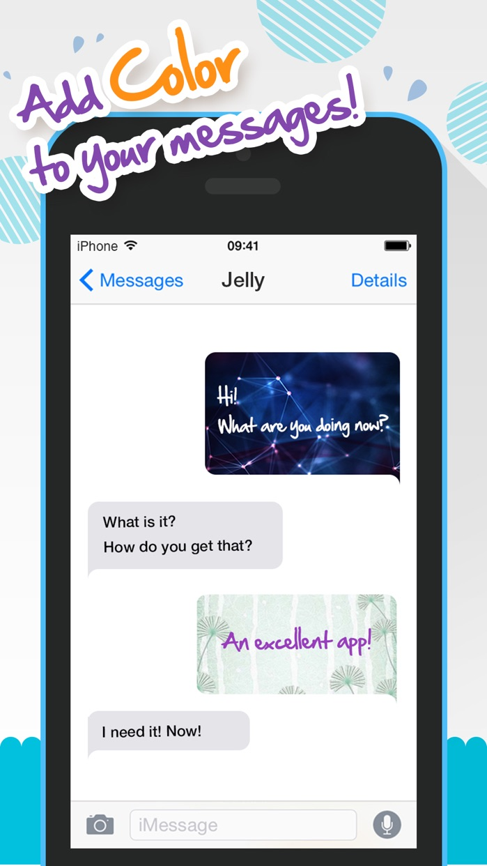 Color Text Messages+ Customize Keyboard Free Now Screenshot