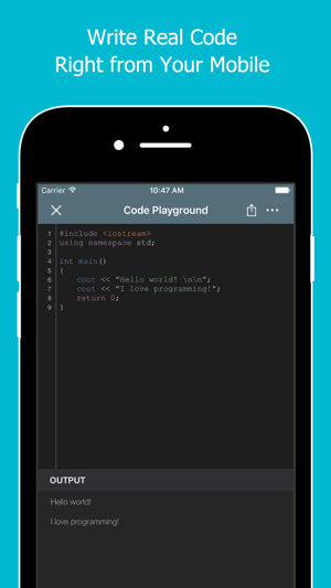 Learn to Code with C++ on the App Store