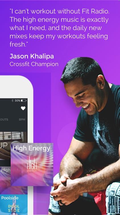Fit Radio - Workout Music, Running, Cardio Coach screenshot-4
