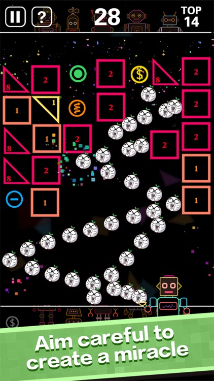 BB Balls-Bricks Breaker game screenshot-3