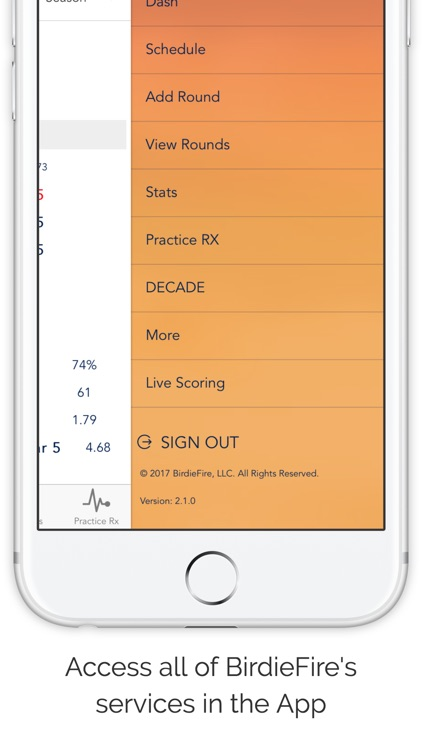 BirdieFire : Live Scoring and Analytics screenshot-3