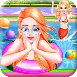Fun Pool Party - Sun & Tanning
