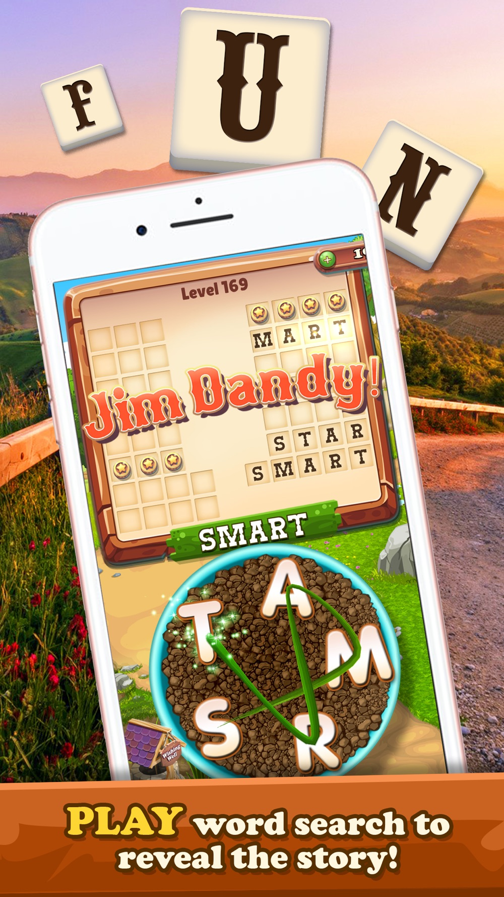 Word Ranch – Be A Word Search Puzzle Hero (No Ads)