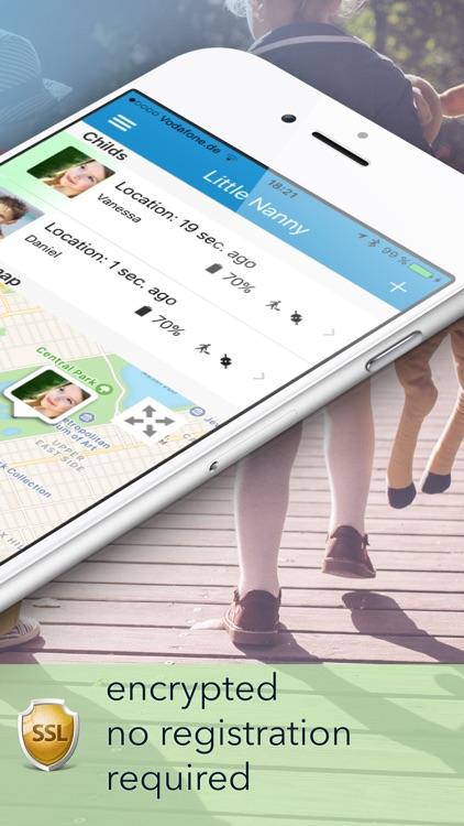Little Nanny Parent Plus - GPS tracker