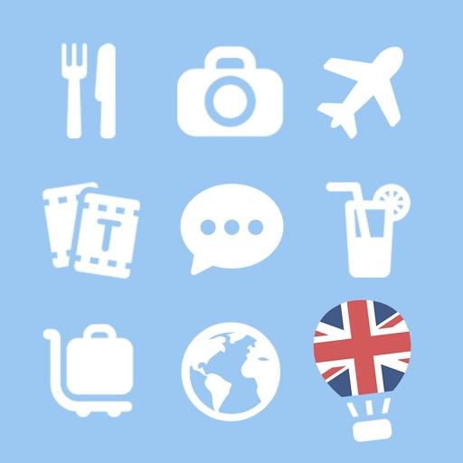 LETS Travel UK! Speak English Phrase Guide Book