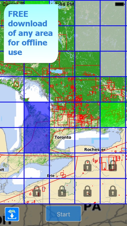 Aqua Map Ontario ON Lakes - GPS Nautical Charts screenshot-4