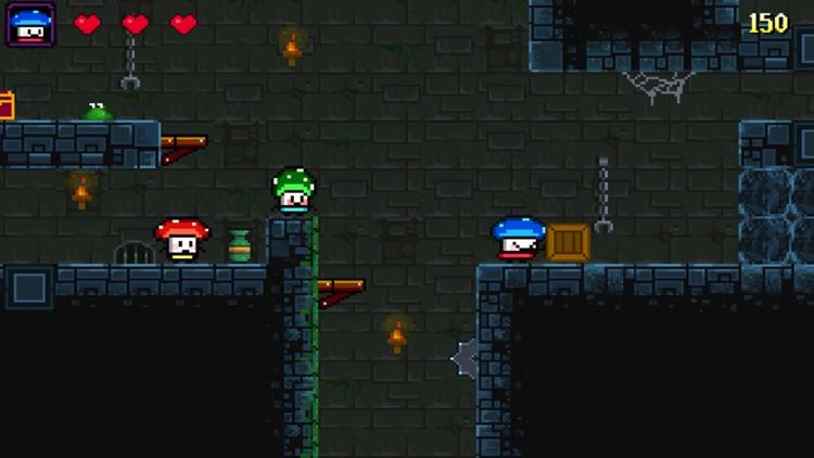Mushroom Heroes screenshot-3