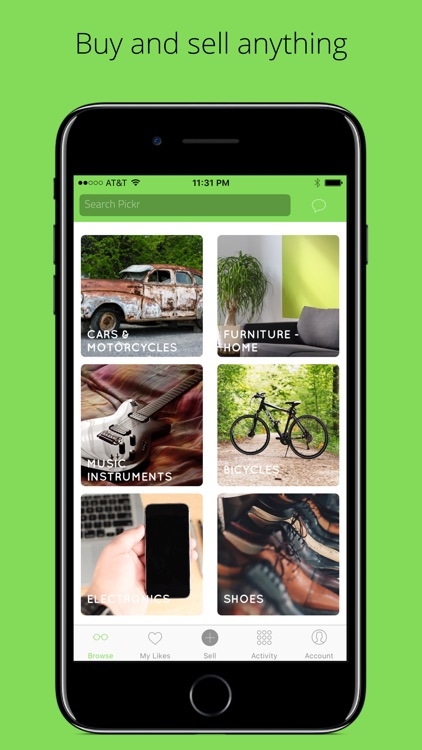Pickr - Buy and Sell Locally