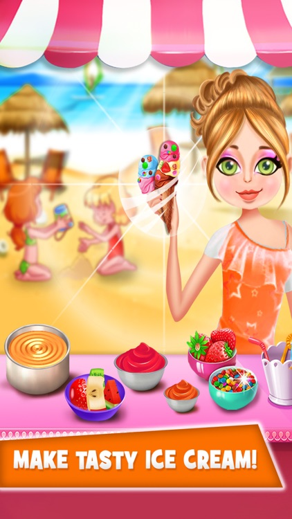 Kids Cake Maker Food Cooking Games for girls screenshot-4