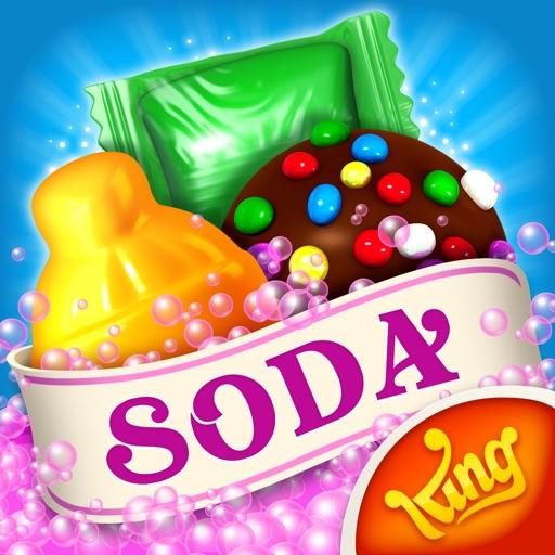 Candy Crush Soda Saga app logo