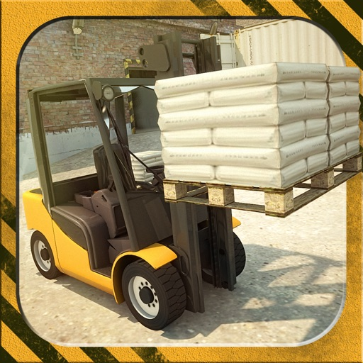 3D Forklift Parking Challenge Simulator 2017