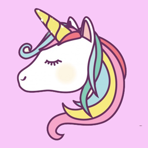 Cute Unicorn Coloring Drawing Book For Girl By Angrisa