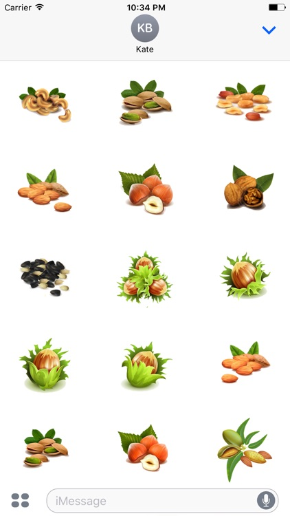 Nuts Stickers