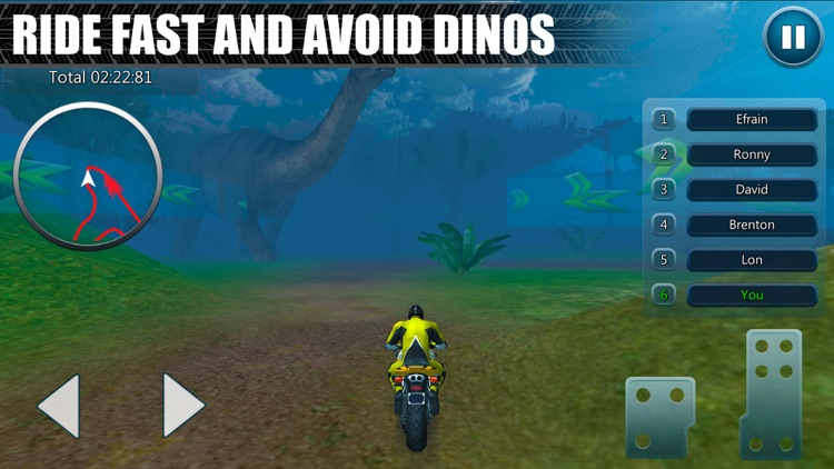 Dino Park Bike Racing Simulator