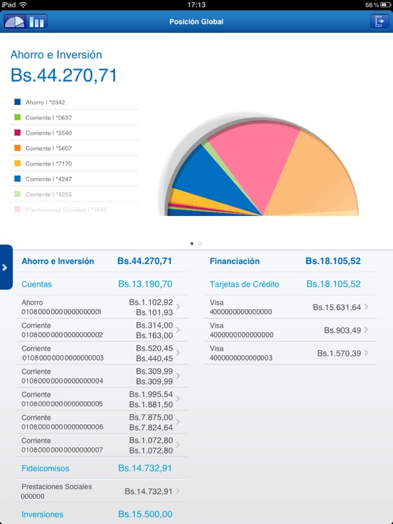 BBVA Provinet Móvil | Venezuela para iPad screenshot-1