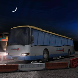 Coach Bus Night Parking 3D – Driving Game