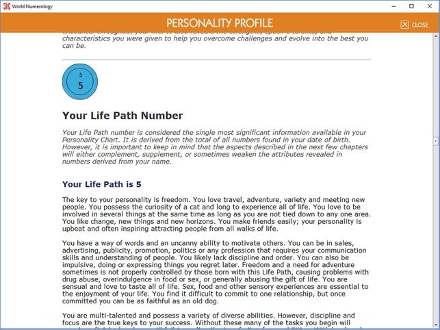 World Numerology for iPad on the App Store