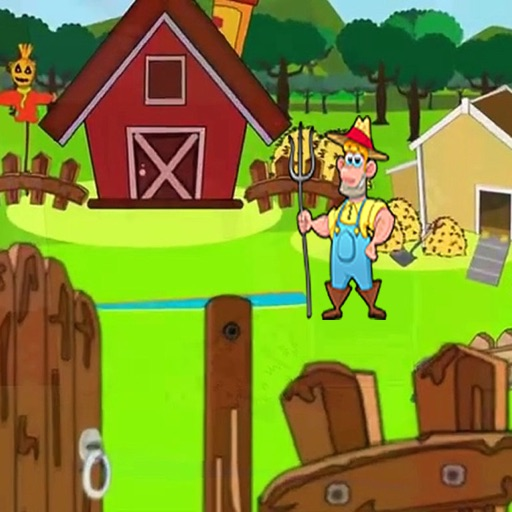 Download Ali Daddy's Farm Kids - Puzzle Game free for iPhone, iPod and iPad