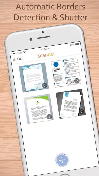 Scanner for me: PDF Scanner for easy office work