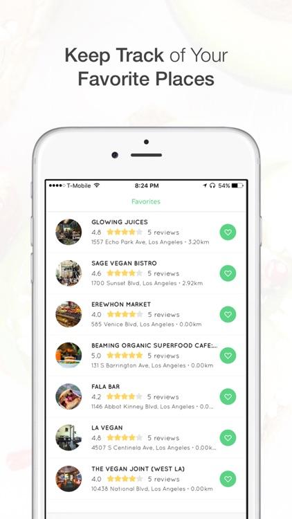 Plants - Vegan / Vegetarian Food Restaurant Finder screenshot-4