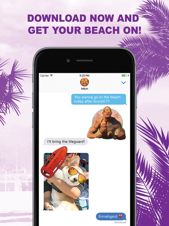 Baywatch Stickers screenshot #3