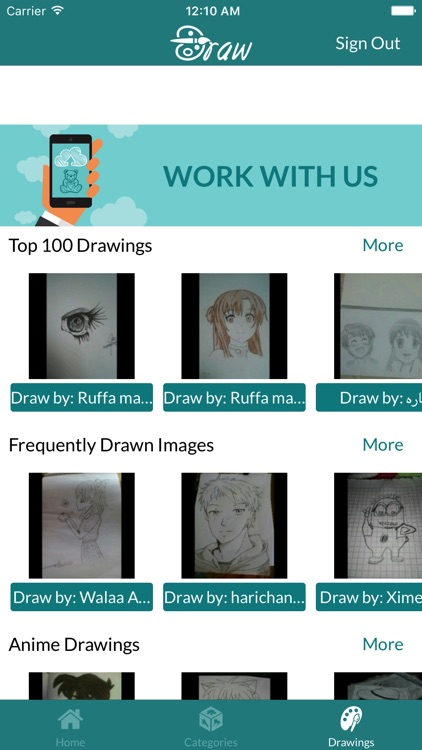 Learn To Draw .