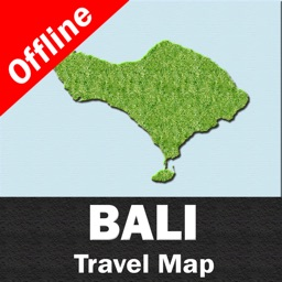 BALI (INDONESIA)– GPS Travel Map Offline Navigator